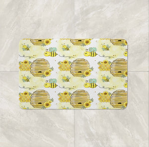 Sweet Honey Bee Shower Curtain