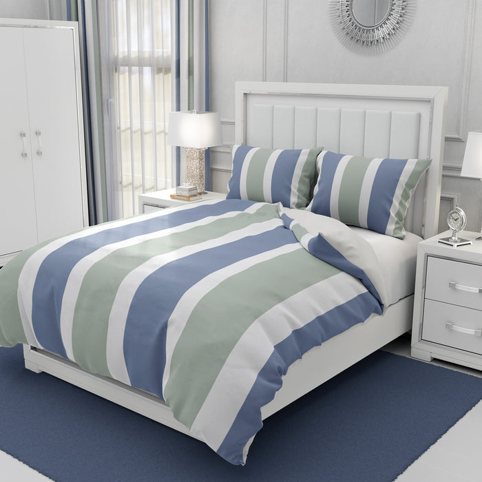 Blue and Green Classic Bedding
