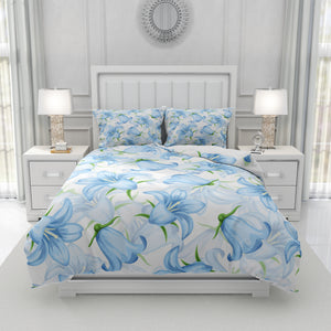 Granny Chic Blue Floral Bedding