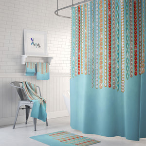 Boho Jewels Shower Curtain