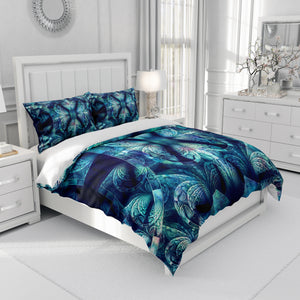 Boho Bohemian Blues Bedding