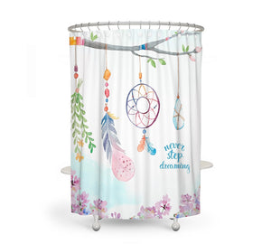 Dreamcatcher Branch Shower Curtain