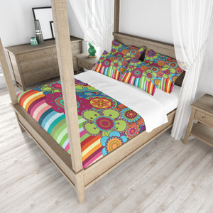 Hippie Wildflower Bedding Set