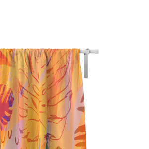 Desert Dance Sheer and Blackout Window Curtains