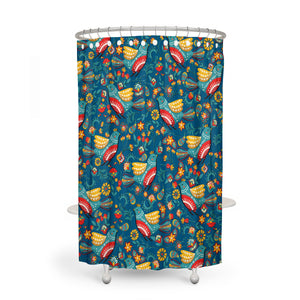 Country Doves Shower Curtain Options Bathroom Decor