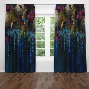 Gypsy Enchantment Window Treatments , Boho Curtains