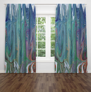 "Hippie Style ""Frankie"" Sheer and Blackout Window Curtains"