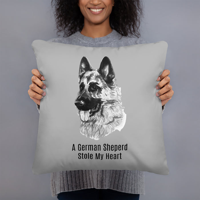 German Sheperd Throw Pillow