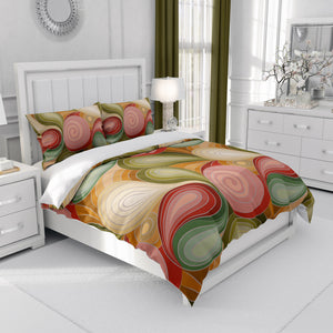 Retro Groovy Boho Bedding
