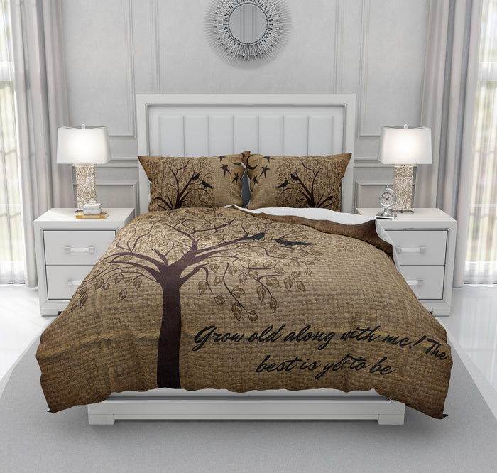 Primitve Bedding,  Grow Old With Me