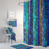 The Boho Chic Blue Gypsy Shower Curtain