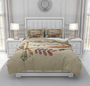 Gypsy Soul Bedding, Boho Chic Comforter Set