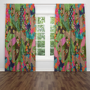 Boho Maximalist Window Curtains