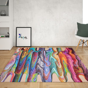 Hippie Swirls area rug