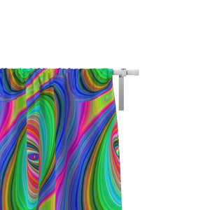 Hippie Vibe Window Curtains Chic Artsy Window Treatments
