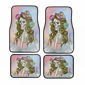 Fun Glam Shot Diva Forevermore Skeleton Car Floor Mats