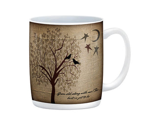 Grow Old With Me Rustic Sweetheart Mug