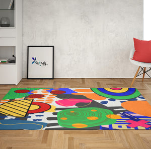 Screaming Color Rug