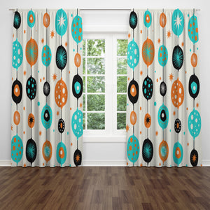 Mid Century Modern Window Curtains