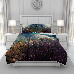 Midnight Crow Comforter Set