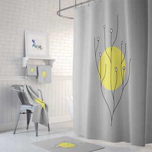 Modern Sun Bathroom Deco Mid Century Theme