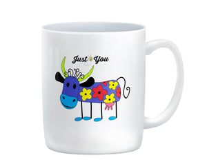 Purple Cow Just B You Coffee Mug
