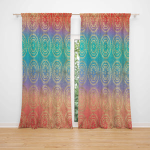 Ombre Boho Window Curtains | Folk N Funky