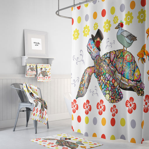 Sea Turtle Shower Curtain, A Little Nonsense
