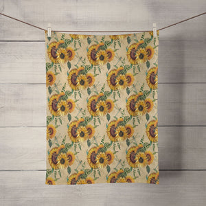 Country Sunflower Towel
