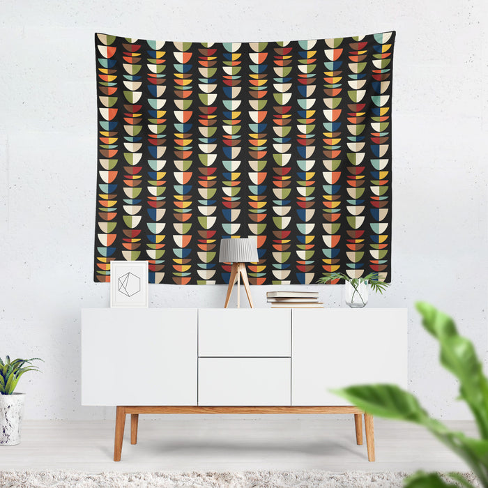 Mid Century Modern Wall Tapestry