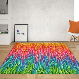 Melting Wax Rug