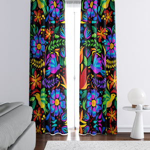 Mexican Folk Art Window Curtains