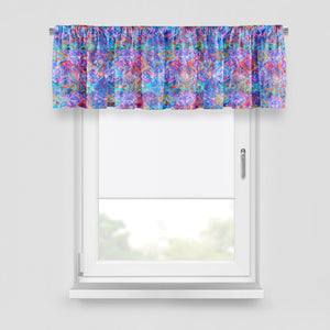 Wild Shibori Window Curtains Options Blackout Valance Sheers Lined Window Treatments