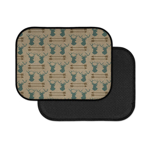Rustic Boho Deer Antlers and Arrows Car Floor Mats
