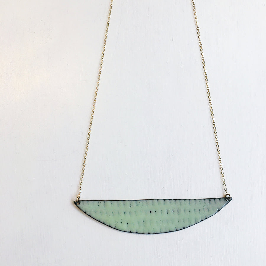 Line and Dot Necklace