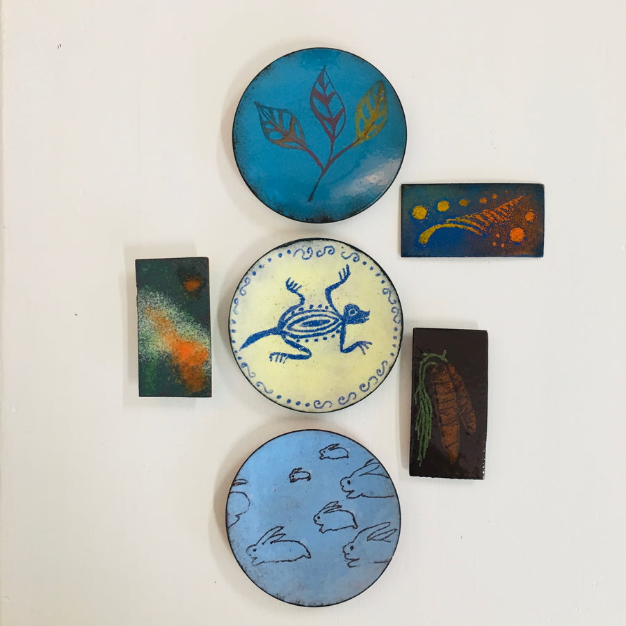 Enameling Workshop-Tiny Bowl