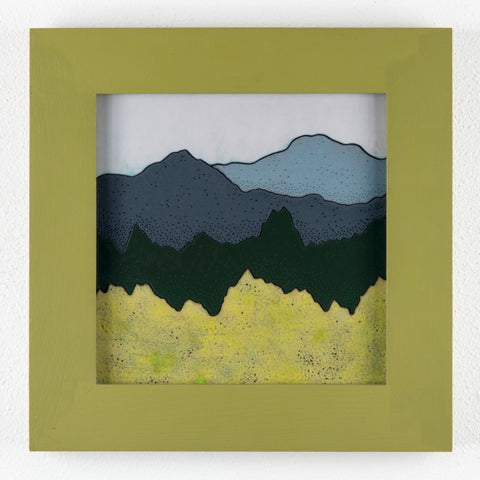 Glass Enamel Framed Art at alishamerrickart Landscape Original