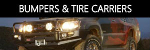 Bumpers and Tire Carriers