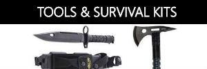 Camp Tools Knives Axes Machetes Survival Kits