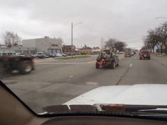 Convoying around Detroit