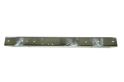 Stainless Steel Front Bumper Without Holes; 97-06 Jeep Wrangler TJ