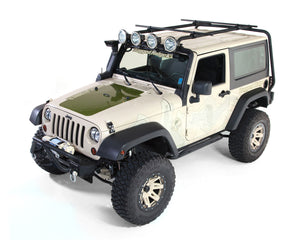 Sherpa Roof Rack Kit, 2-Door, 07-18 Jeep Wrangler