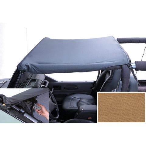 Pocket Brief Top, Spice; 97-06 Jeep Wrangler TJ