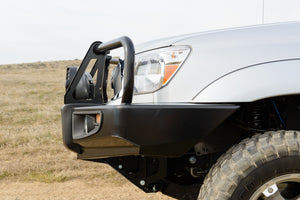 Black Toyota Tacoma Deluxe Bar w/Winch Mount