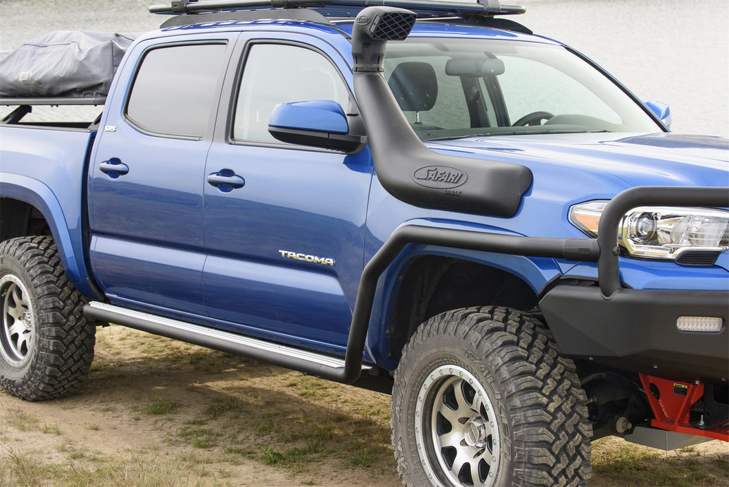 Toyota Tacoma Summit Side Steps and Protection Rails 2016-present