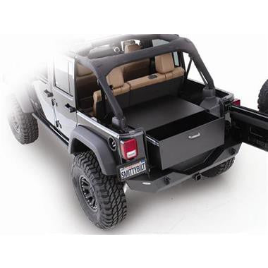 Rear Lockable Storage Box JK/JKU 07-15