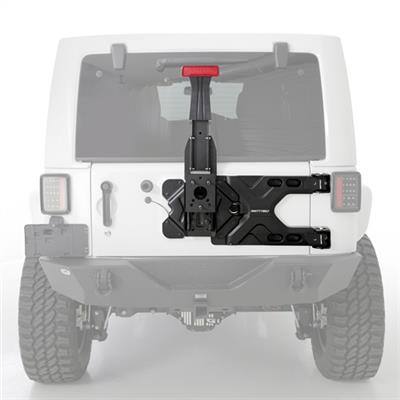 Pivot HD Tire Carrier for 07-15 Jeep Wrangler JK/JKU 07-18