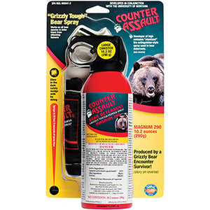 Counter Assault Bear Deterrent with Belt Holster 10.2 oz