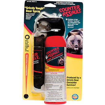 Counter Assault Bear Deterrent with Belt Holster 8.1 oz