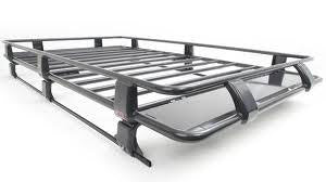 "Steel Roof Rack Basket with Mesh Floor 87"" x 49"""